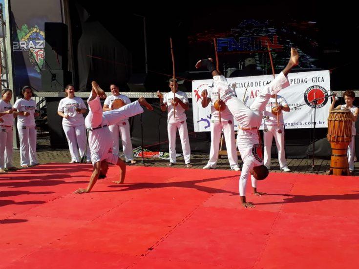 Capoeira Brilha na FARTAL e Desfile Cívico em Foz do Iguaçu
