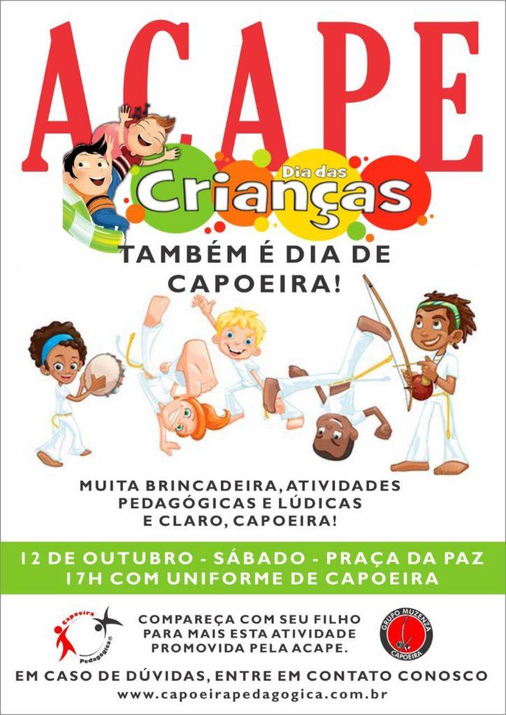 Dia das Crianças Capoeira Pedagógica