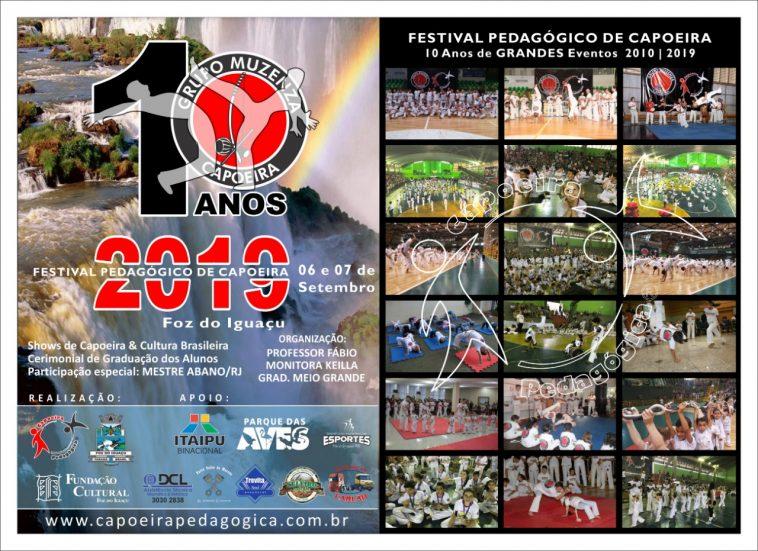 FESTIVAL PEDAGÓGICO DE CAPOEIRA: PROGRAMAÇÃO OFICIAL